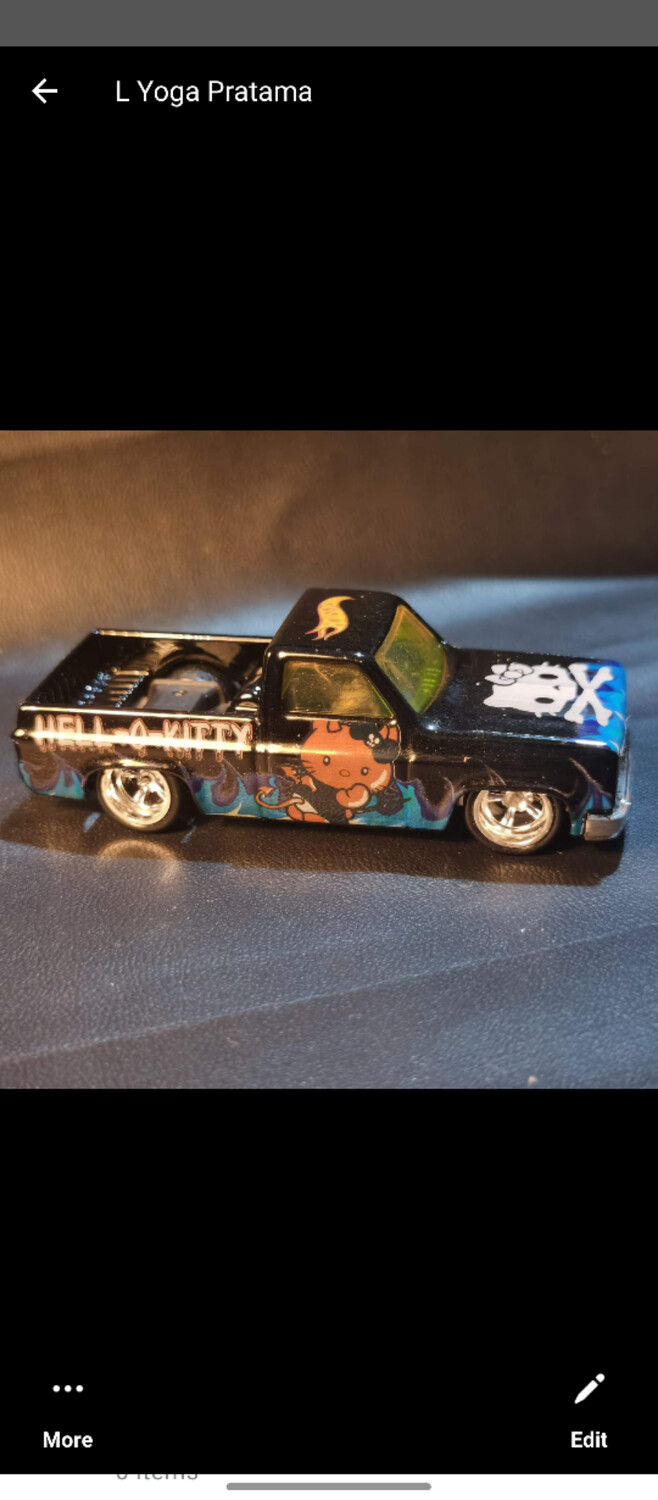 April House of Cars Exclusive '83 Silverado Bad Kitty
