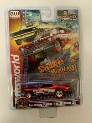 Las Vegas Super Convention Official Mongoose Slot Car Chrome Red 1 of 1008