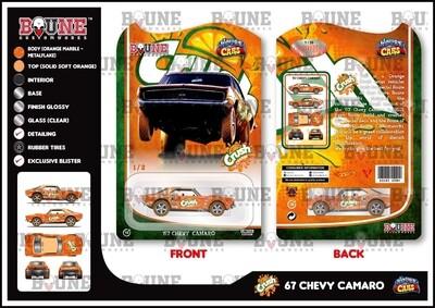 April Orange Crush 67 Camaro Boune Customs