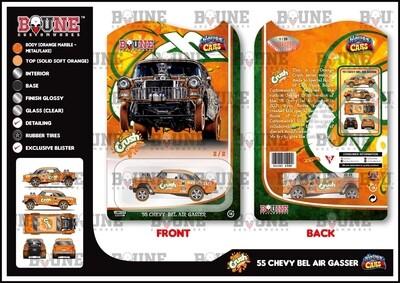 April Orange Crush 55 Gasser Boune Customs