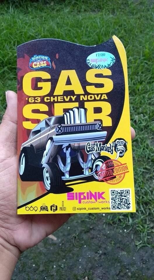 SiPinks Nova Gasser March Release