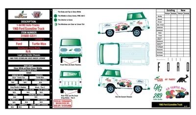 M2 1965 Ford Econoline Truck -GASSER