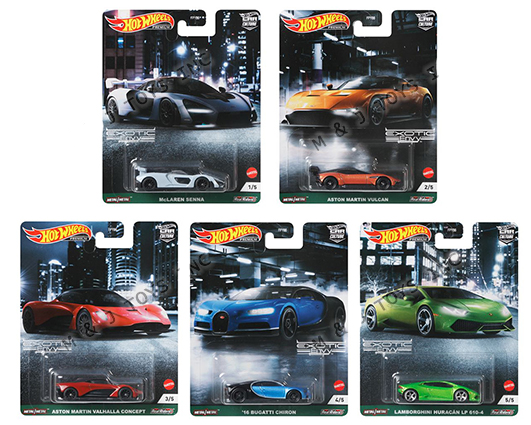 Hot Wheels Exotic Envy Car Culture Sealed Case of 10