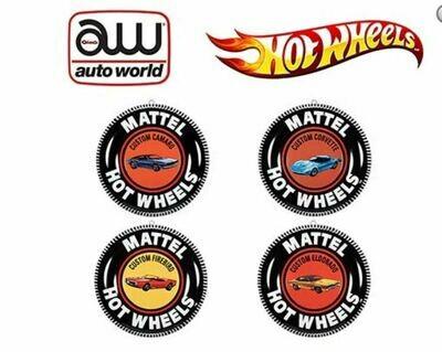 Auto World Tin Sign 12
