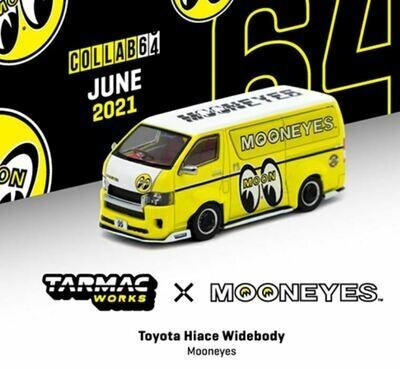 Tarmac Works 1:64 Toyota Hiace Widebody Mooneyes