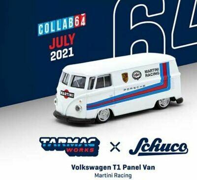 Tarmac Works 1:64 Schuco Volkswagen T1 Panel Martini Racing