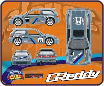 June HOC Exclusive EF Honda Civic