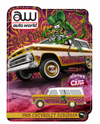 SEMA Rat Fink 65 Suburban Exclusive with Ultra Red