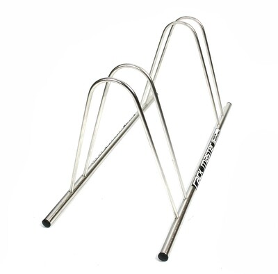 Rackmaster 2 x Bicycle Stand stainless steel