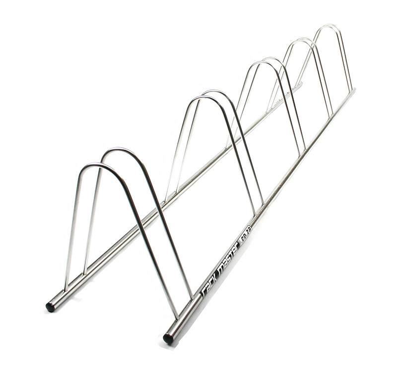 Rackmaster 5 x Bicycle Stand Free delivery  Stainless Steel  ( PPA membership )