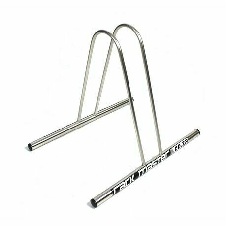 Rackmaster Single Bicycle Stand stainless steel