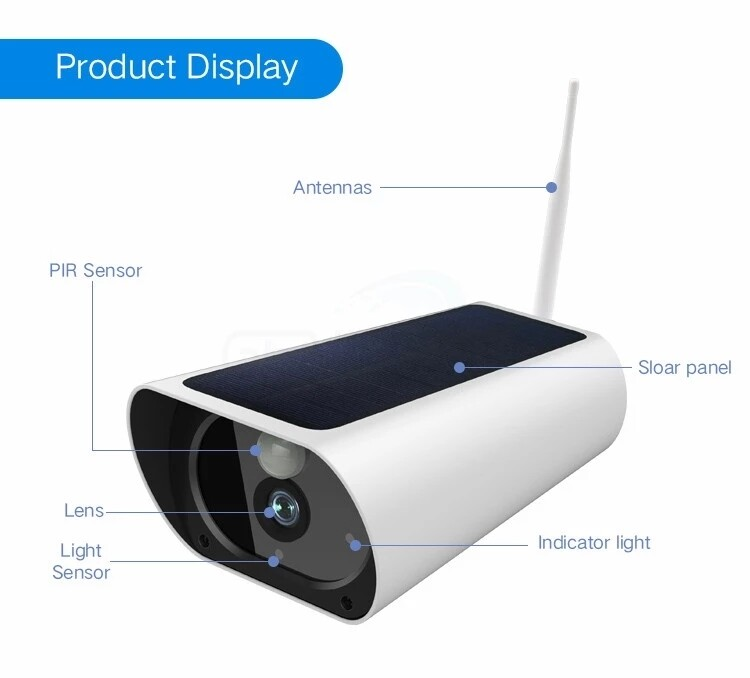 1080 HD Wireless CAM  works on your mobile phone