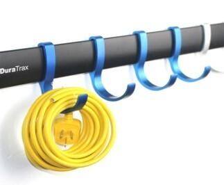 6 Piece Economical Kit (5 Satin Hooks + 1 Rail 820mm + Fastener Kit)