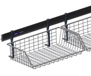 Wire basket 380mm open front