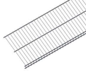100kg per meter Wire Shelf Mat - 380mmx1841mm