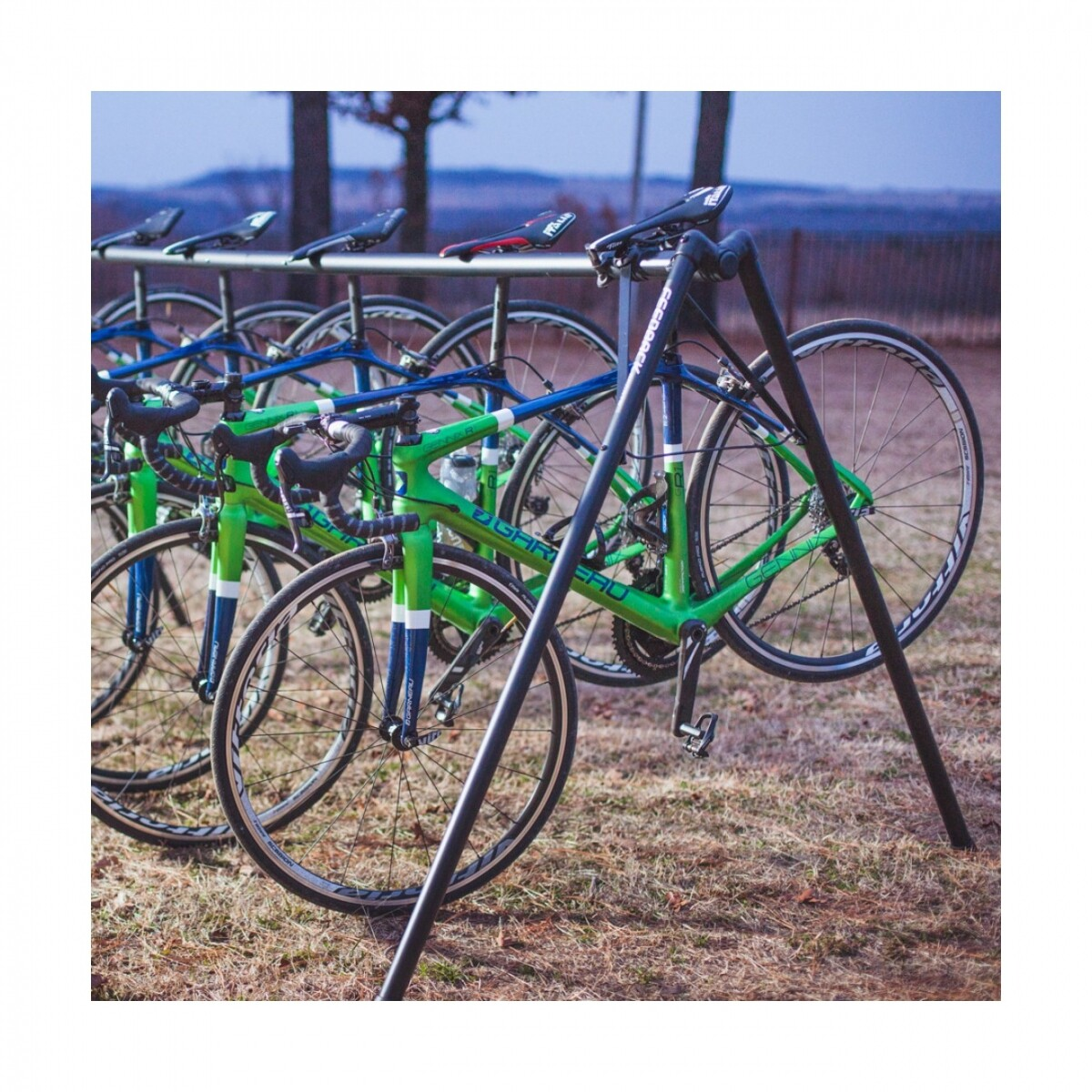 6 bike stand