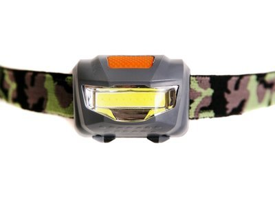 LED Head Torch Grey