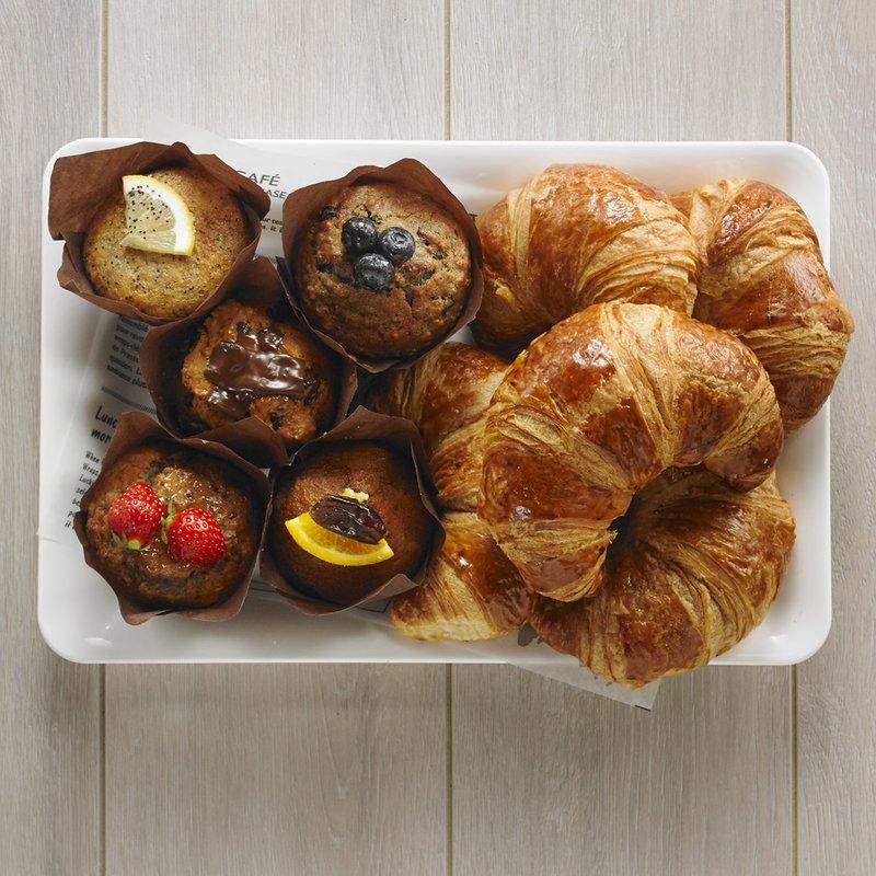 Muffins & Croissants Platter