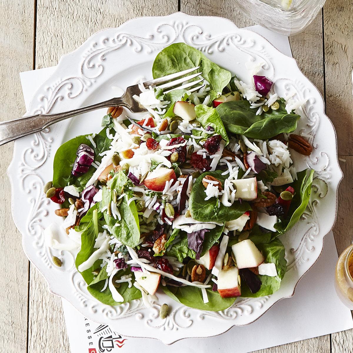 Salade récolte