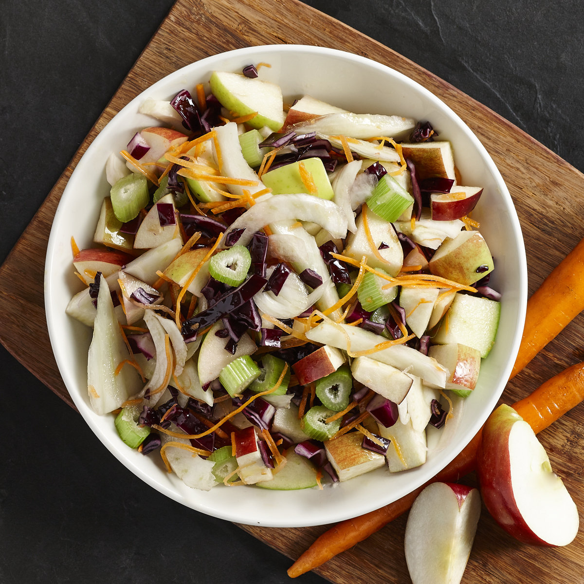 Salade croustillante fenouil & pommes