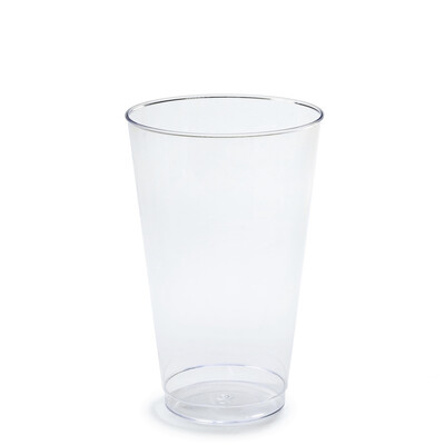 16 oz Clear Plastic Tumblers