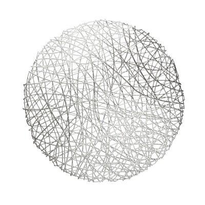 Summer Design - Silver - Round Placemat
