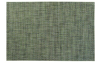 Soho Design - Gray / Blue / Green - Round Vinyl Placemat