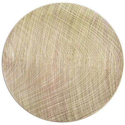 Luna Design - Matt Gold - Round Placemats