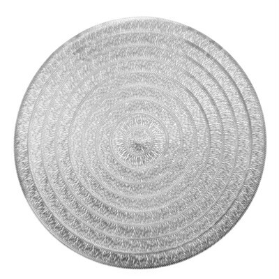 Life Design - Shiny Silver - Round Placemat