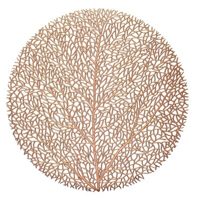 Eden Design - Matt Rose Gold - Round Placemats