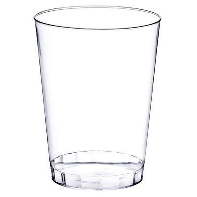 10 oz Clear Plastic Tumblers, - 1 PIECE SAMPLE -