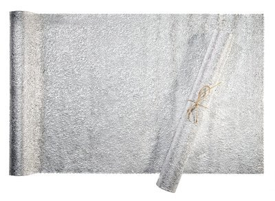 Glam Design - Silver - Table Runner Pressed Vinyl