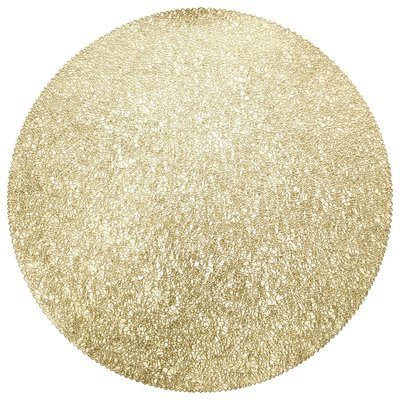 Glam Design - Gold - Round Placemat