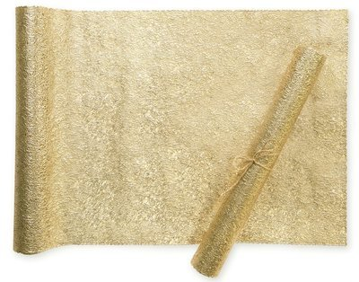 Gold - Glam Table Runner Placemat  -1 PIECE SAMPLE -