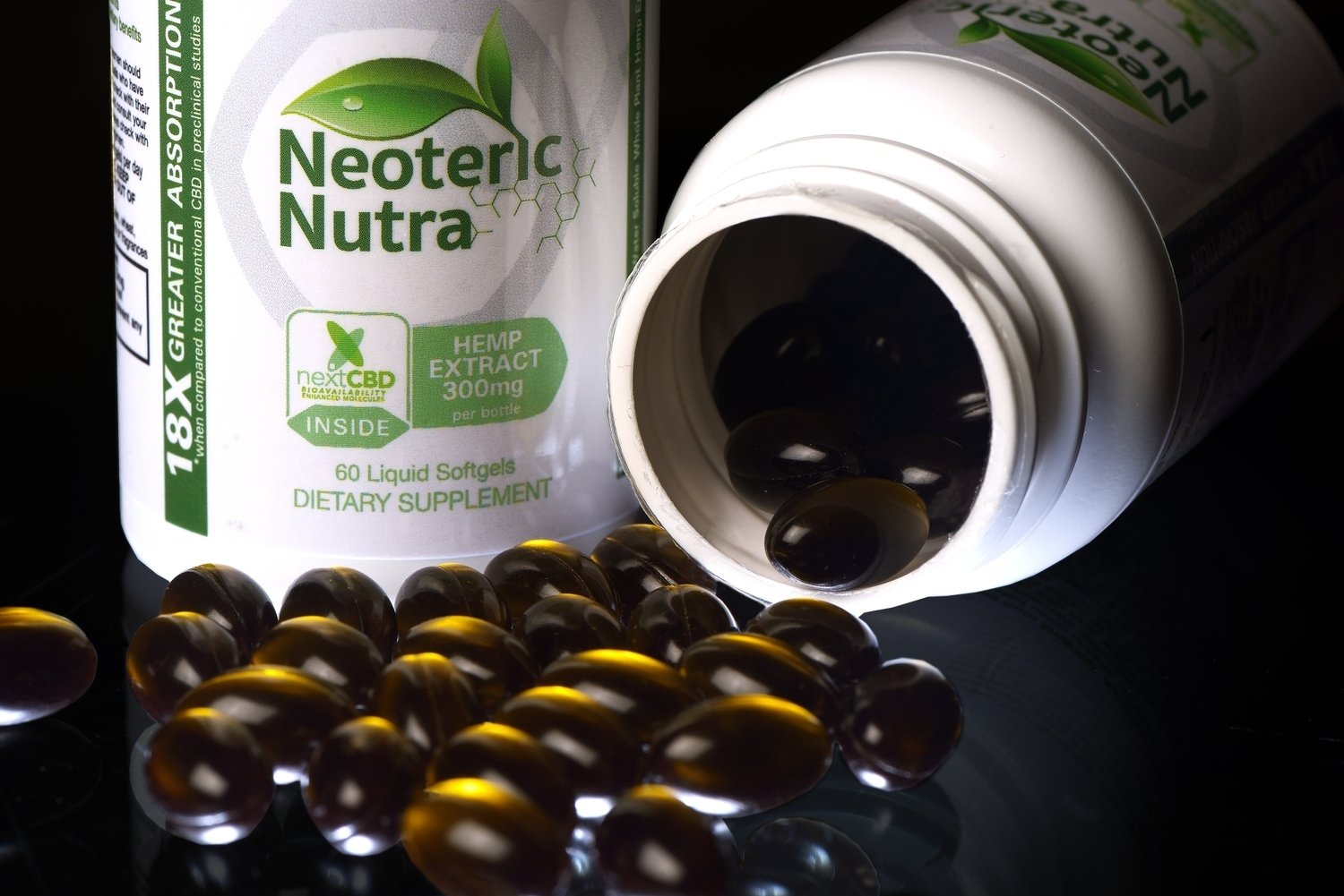 Neoteric Nutra Where Science Meets Nature™                 Nexthemp™ Whole Spectrum Nano Softgels 60 ct.