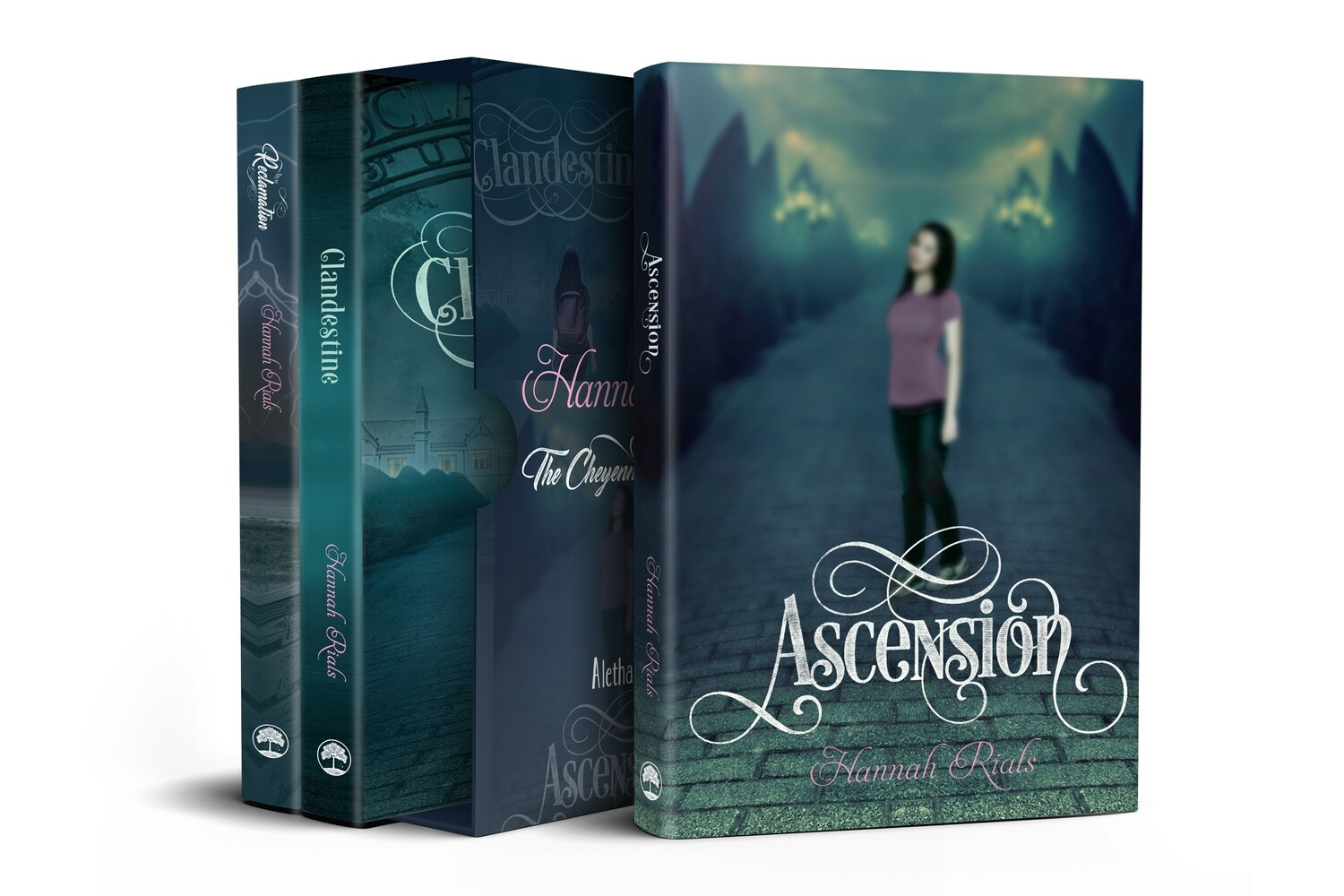 Ascension Trilogy by Hannah Rials 3-Book Box Set