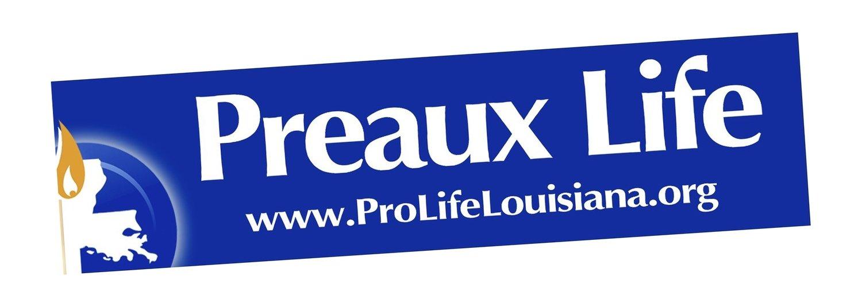 Preaux Life Bumper Sticker
