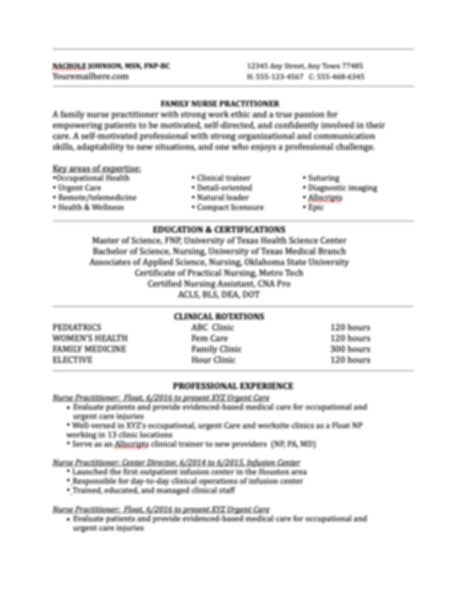 Classic Resume and Cover Letter Template