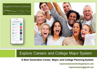 2 Explore Careers and College Majors for 1 Sale