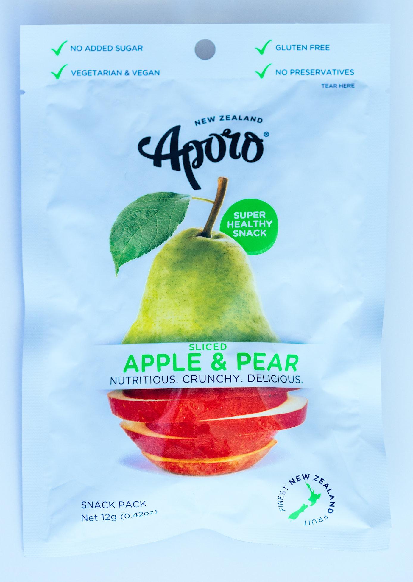 APORO Apple & Pear Snacks 00038