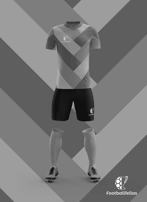 Arrows custom football jersey