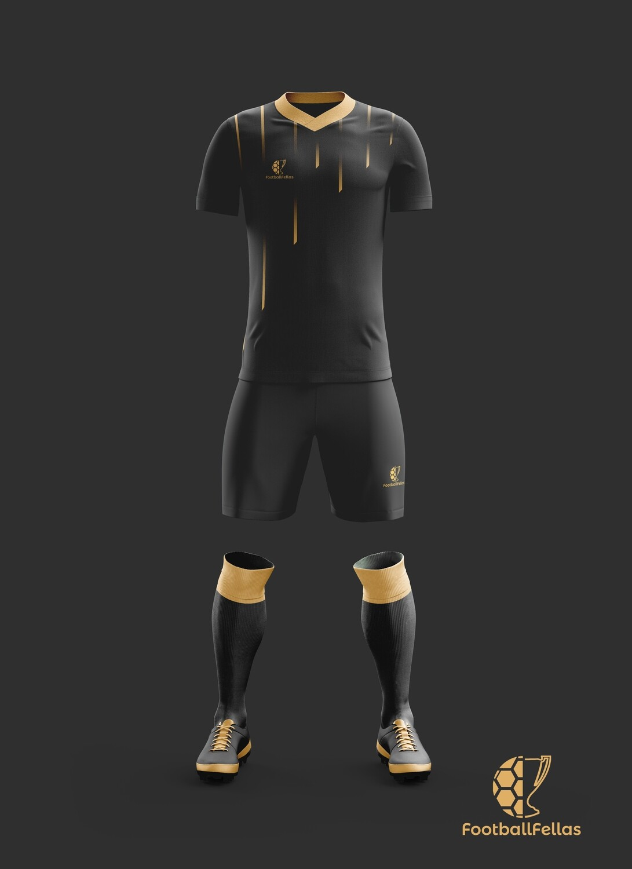 Drop lines custom football jersey