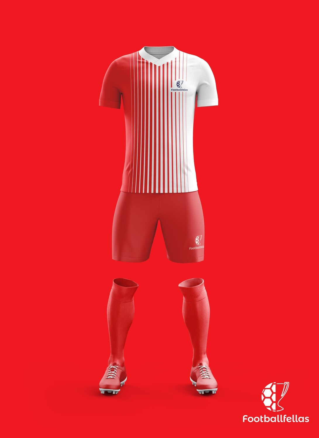 Psych lines custom football kit with shorts