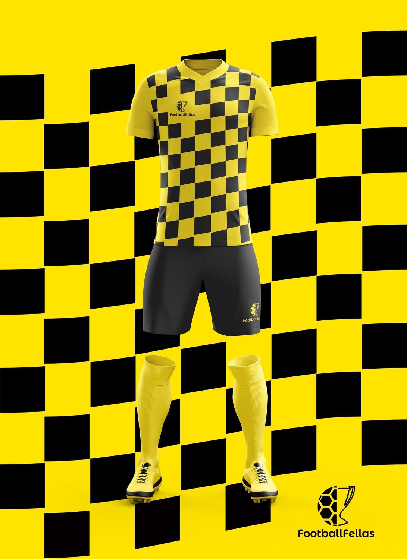 Wave custom football jersey