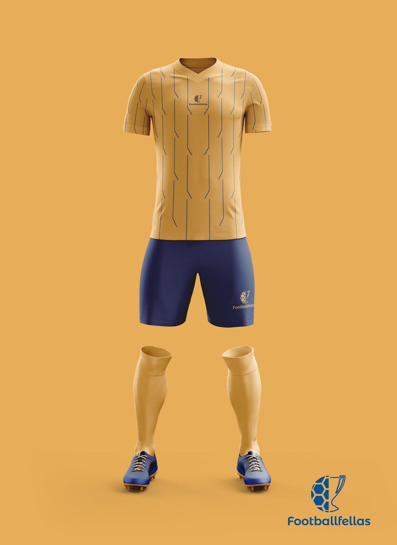 Voltage Lines custom football jersey