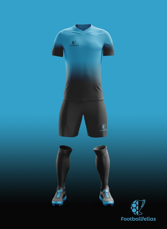 Black Tint custom soccer jersey