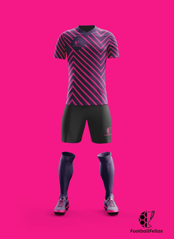Vibrant Maze custom football game jersey
