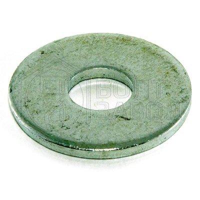 Шайба кузовная плоская увеличенный диаметр 10 100 штук