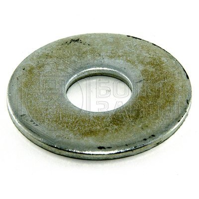 Шайба кузовная плоская увеличенный диаметр 18 100 штук