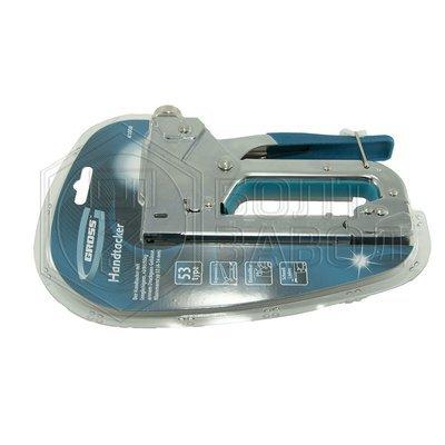 Степлер мебельный для скоб тип 53 4-14 мм фирмы GROSS